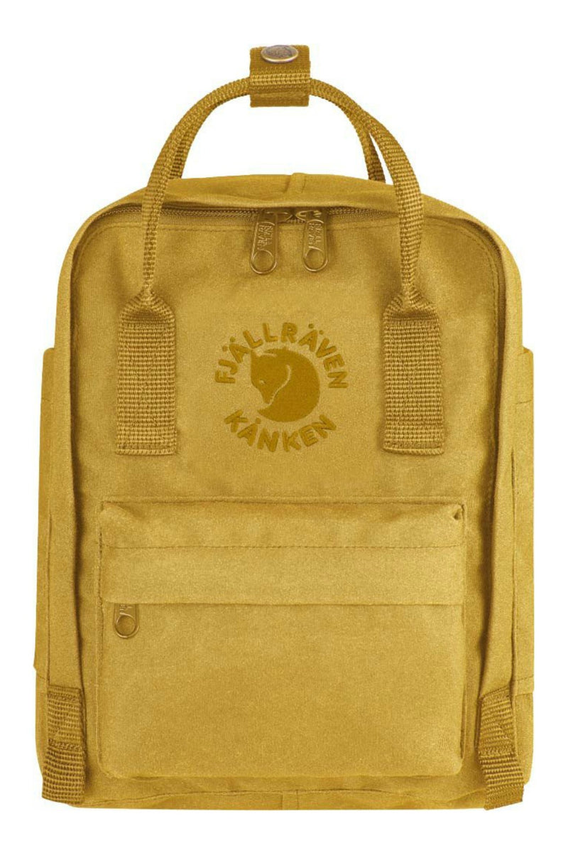 Fjällräven Re-Kånken Mini Backpack in Sunflower Yellow