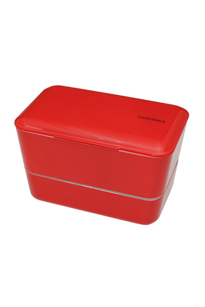 Takenaka Double Expanded Bento Box in Red