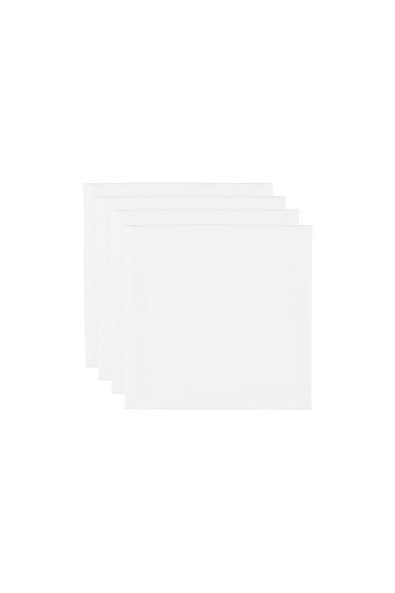 Now Designs Renew Napkins Set of 4 - White