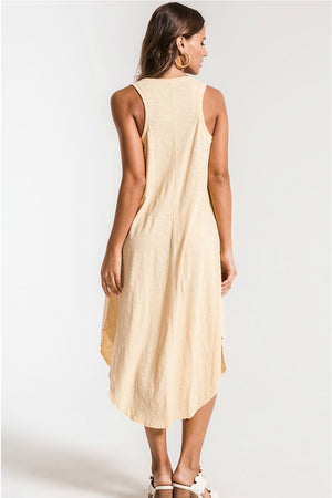 Z Supply Reverie Dress in Yellow Cream