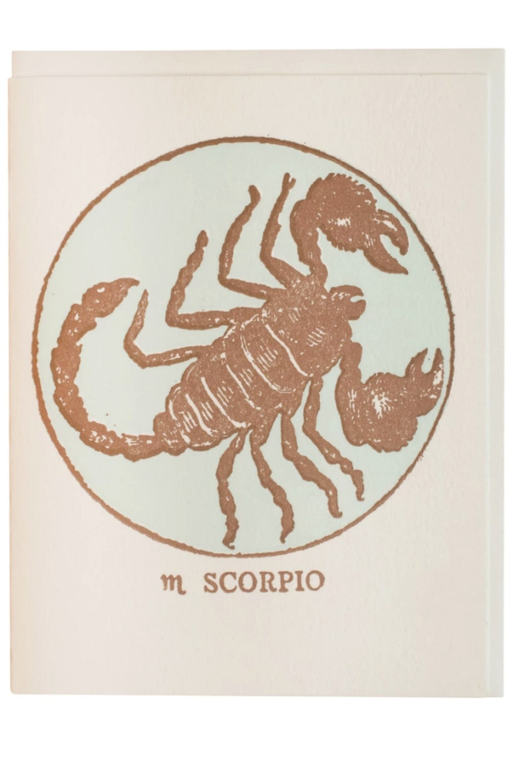 Margins Zodiac Card - Scorpio