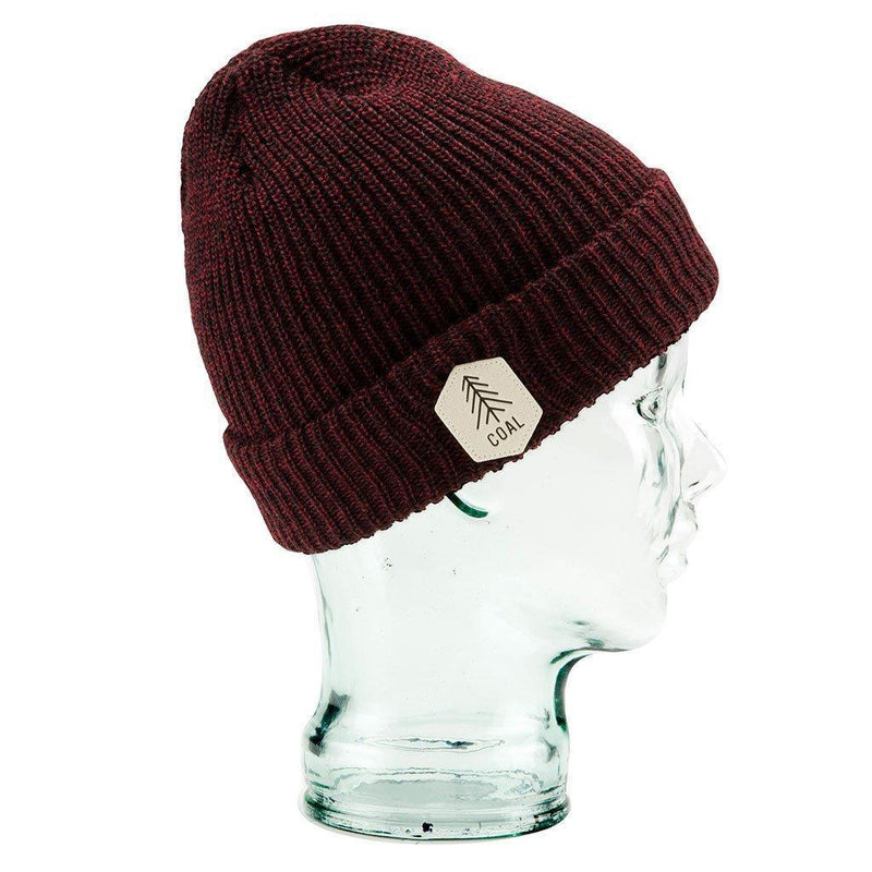 Coal Scout Beanie - Dark Burgundy