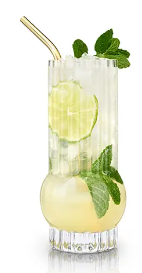 Raye: Deco Highball Glass