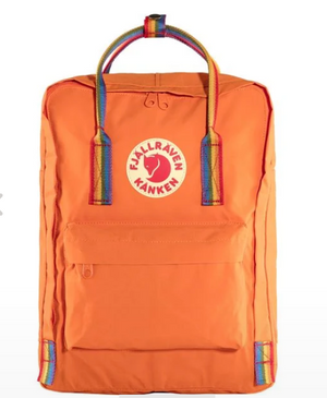 Fjällräven Rainbow Kanken - Burnt Orange