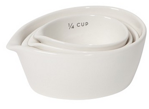 Now Designs Ivory Measuring Cup Set