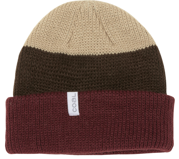 Coal Frena Beanie - Brown Stripe