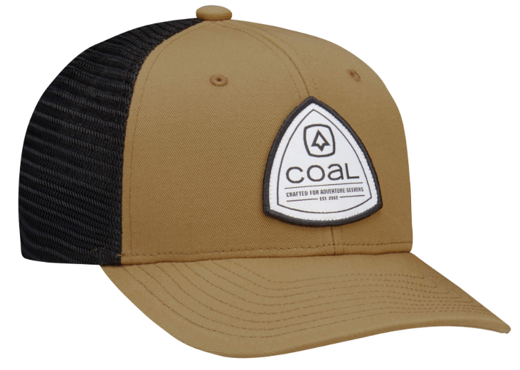 Coal Sterling Twill & Recycled Mesh Trucker Cap