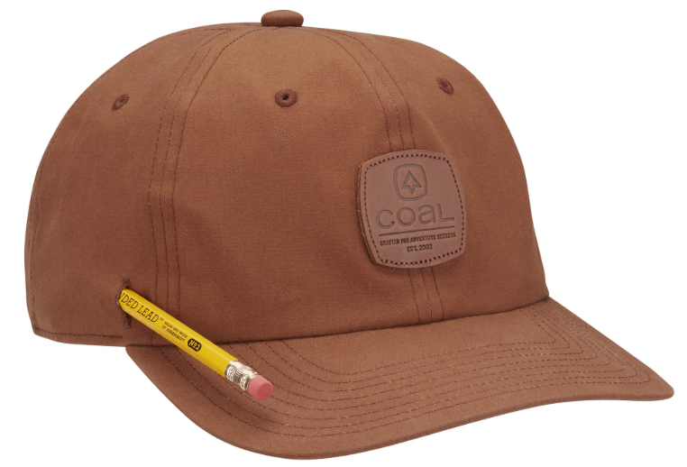 Coal Cypress Waxed Canvas Workwear Cap - Light Brown