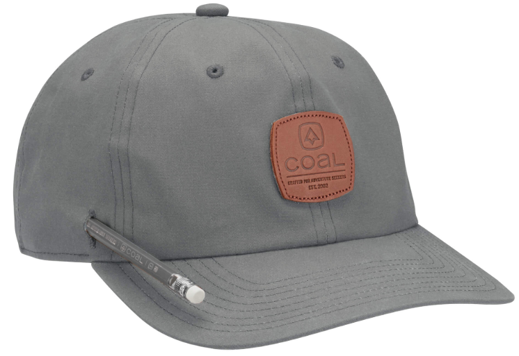 Coal Cypress Waxed Canvas Workwear Cap - Grey
