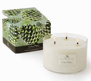 Soap & Paper Factory Three-Wick Soy Candle