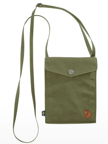 Fjällräven Pocket Shoulder Bag - Green
