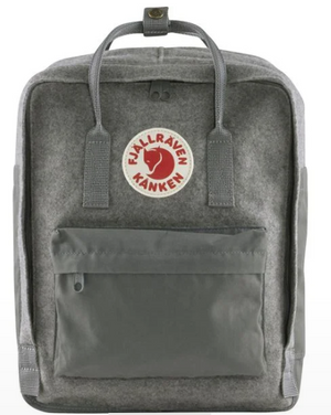 Fjällräven Re-Wool Kanken - Graphite Grey