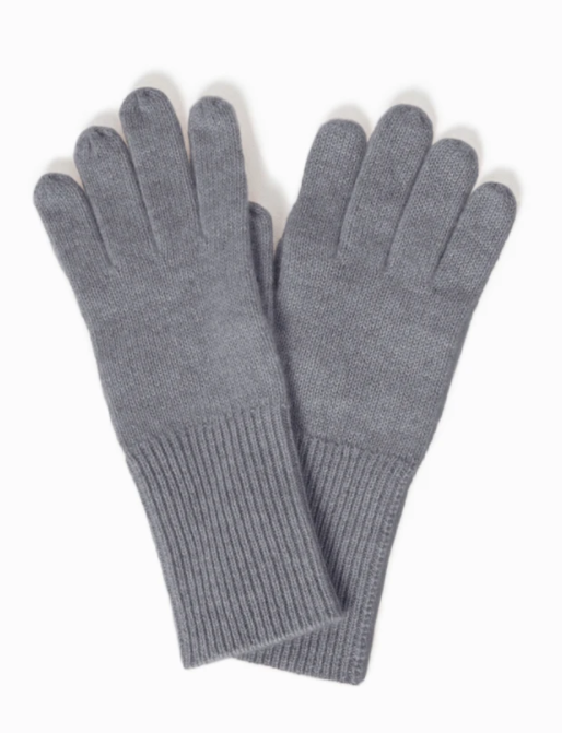 LOOK Cashmere Gloves - Grey