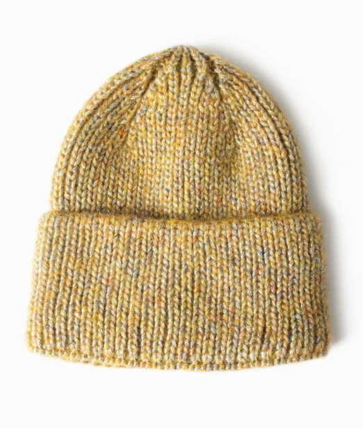 LOOK Sparkled Confetti Beanie - Yellow