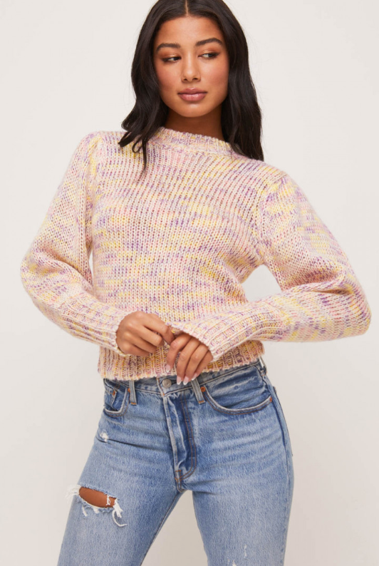 Jane Puff Sleeve Sweater