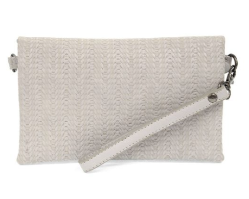 Kate Crossbody Clutch - Soft Grey