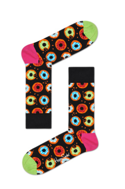 Unisex Combed Cotton  Happy Socks - Donut