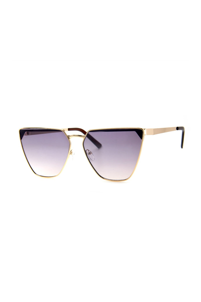 Seize Sunnies - Gold/Mirror