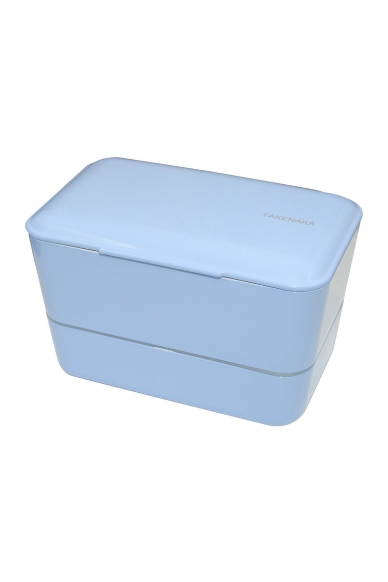 Takenaka Double Expanded Bento Box in Serenity Blue