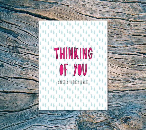The Thinking of You Card
