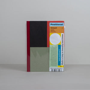 Positional Notebook - Verdigris