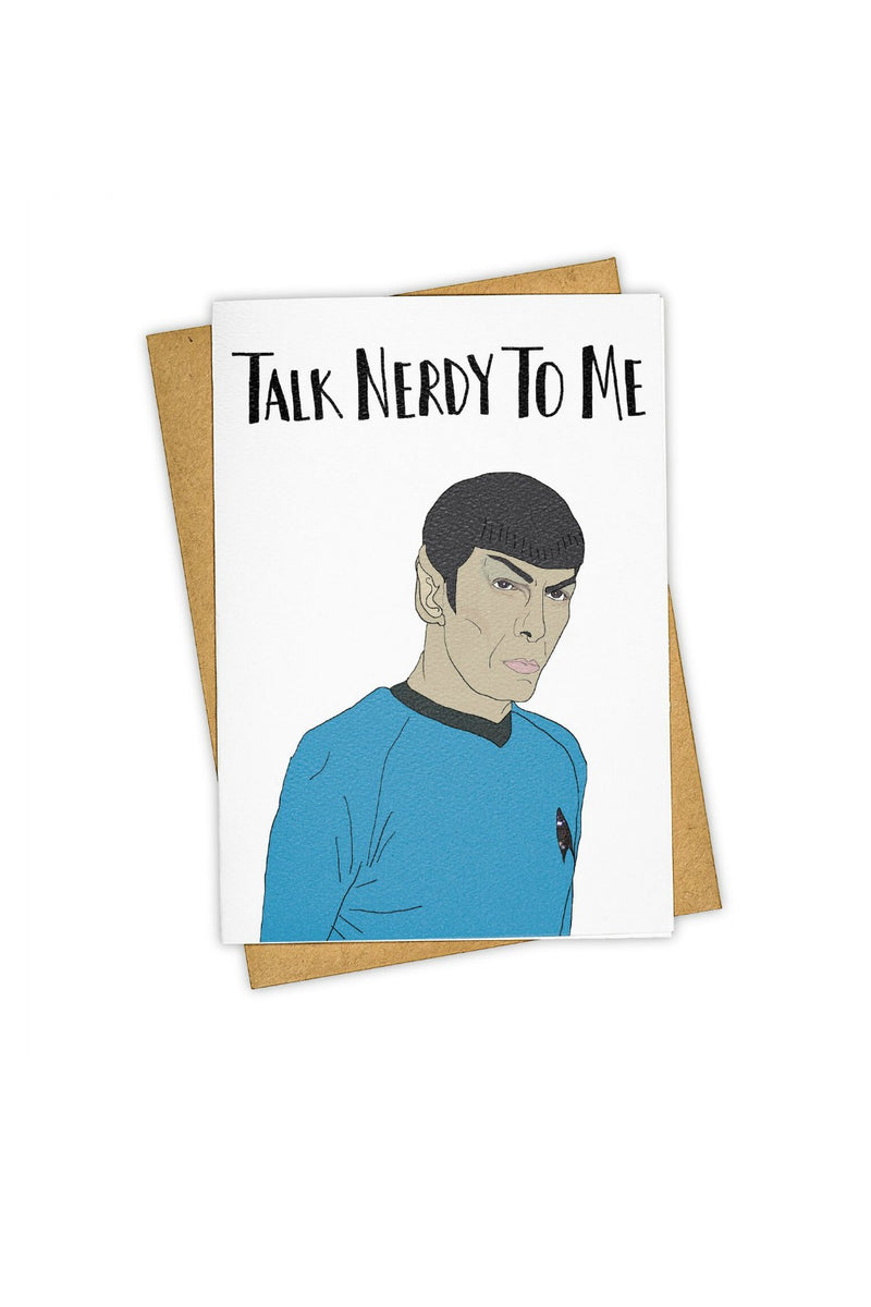 TAY HAM Greeting Card- Talk Nerdy