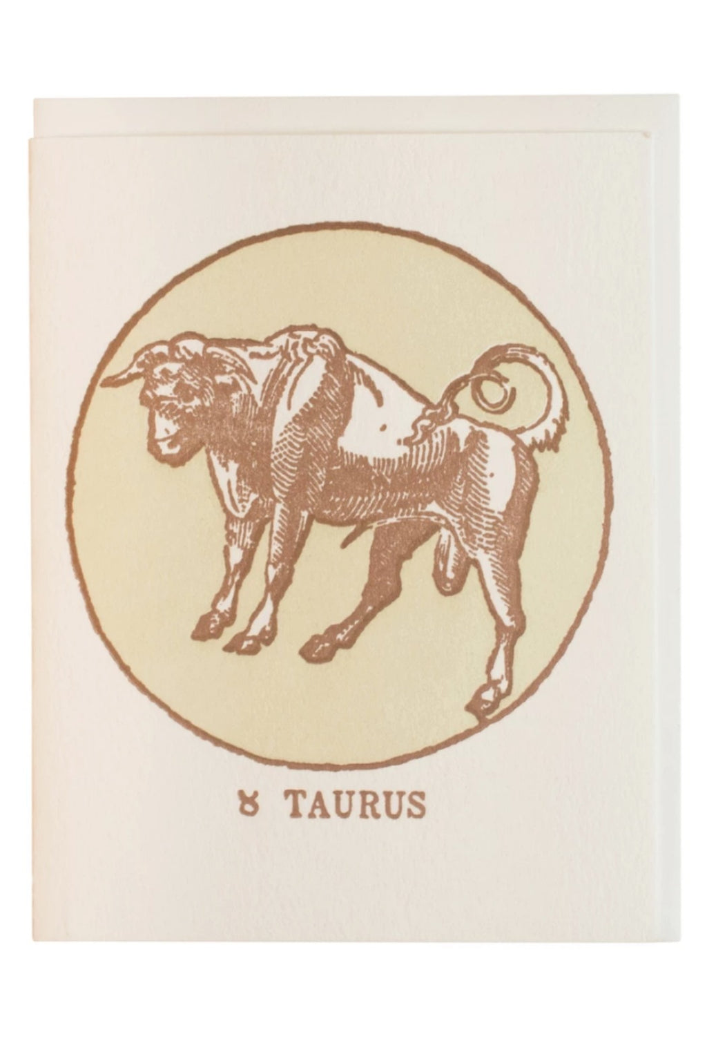 Margins Zodiac Card - Taurus