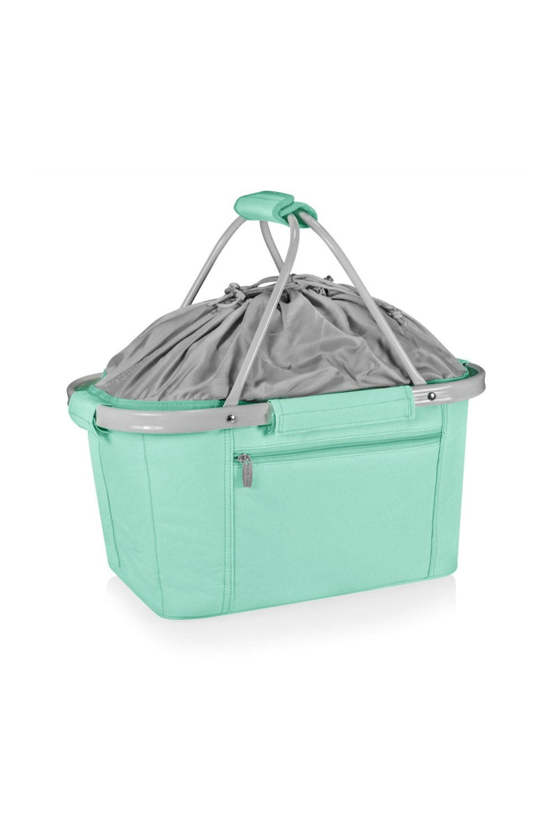 Picnic Time Metro Basket Collapsible Cooler Tote - Teal