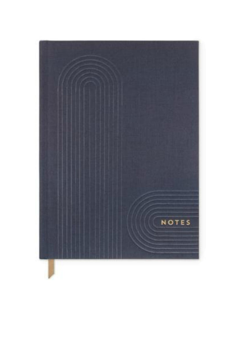 "Designworks Ink Linear Cloth Journal Geo ""Notes"""