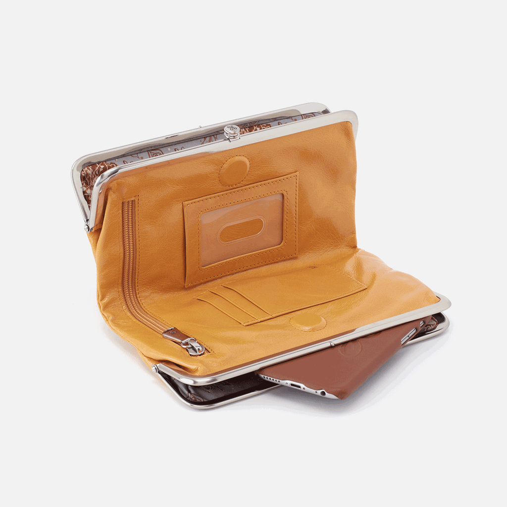 Hobo Lauren Wallet - Mustard