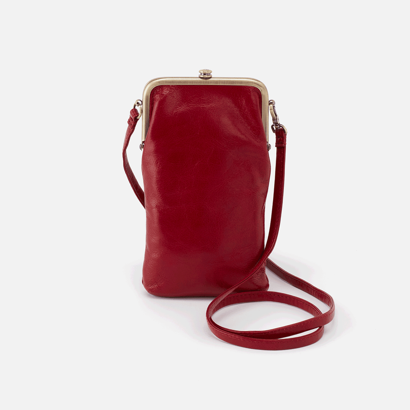 Hobo Melody Crossbody - Garnet