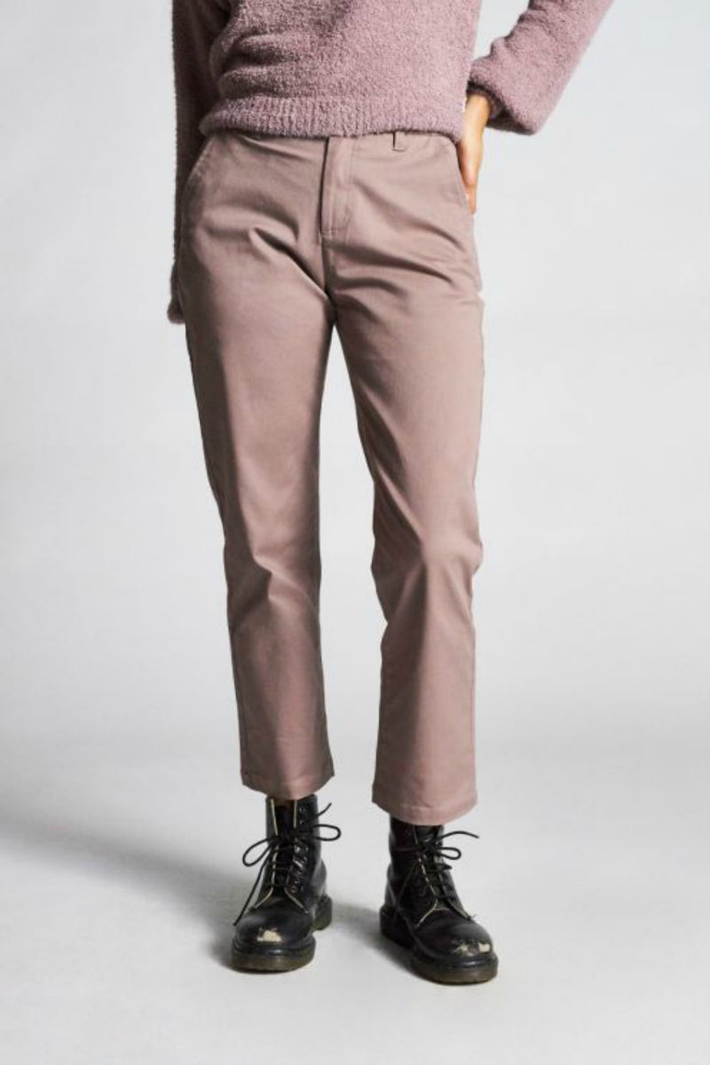 Brixton Victory Pant in Mauve