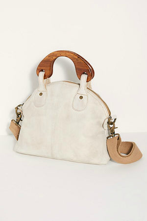 Free People Mini Willow Tote - White
