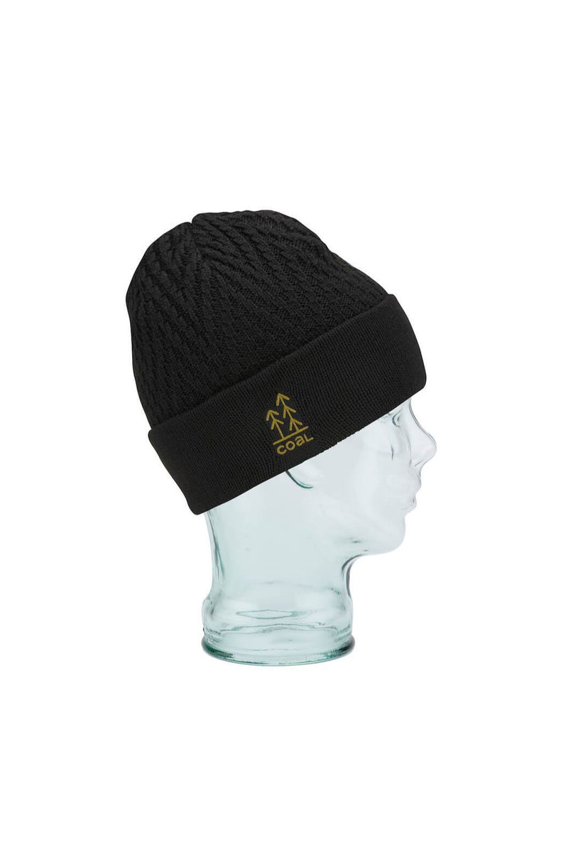 Coal Winslow Beanie in Black