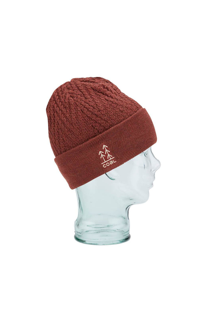 Coal Winslow Beanie in Dark Red