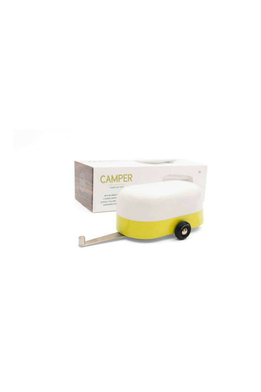 Candylab Toys Yellow Camper