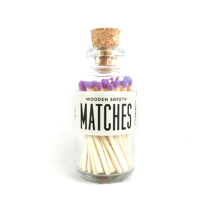 Mini Matches - Lavender