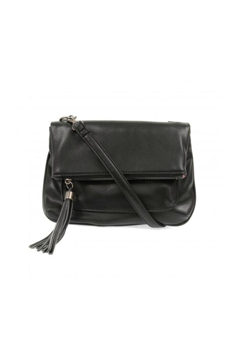Joy Susan Alice Crossbody w/ Tassel - Black