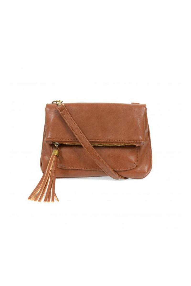 Joy Susan Alice Crossbody w/ Tassel - Cognac