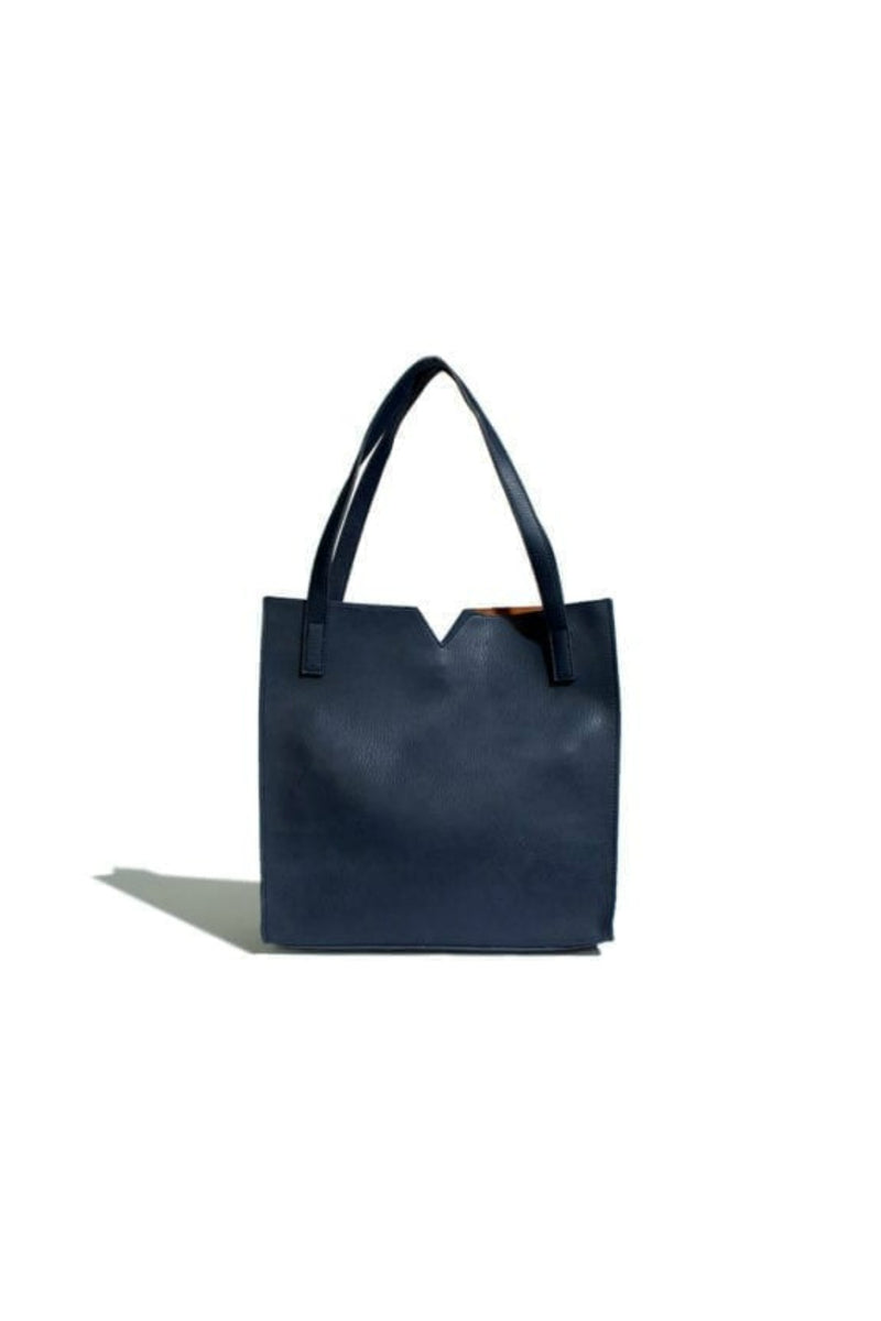 Pixie Mood Alicia Tote - Pebbled Navy