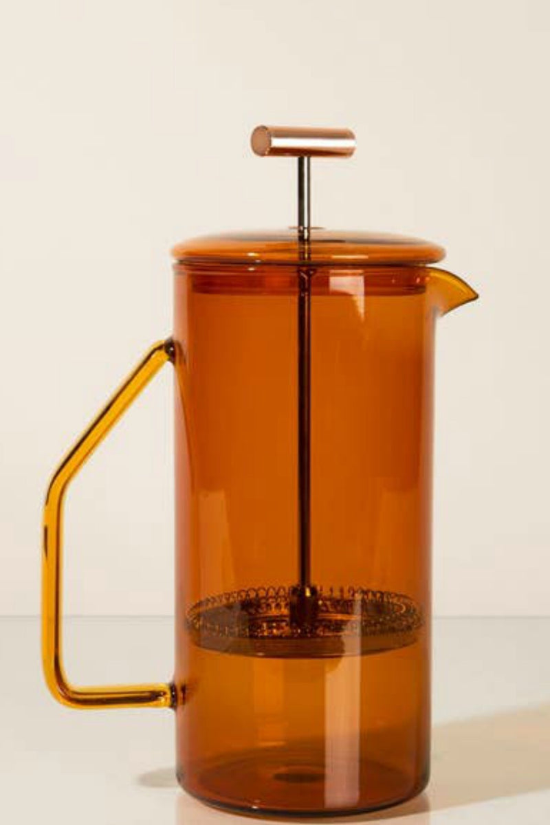 Yield 850ml Glass French Press - Amber