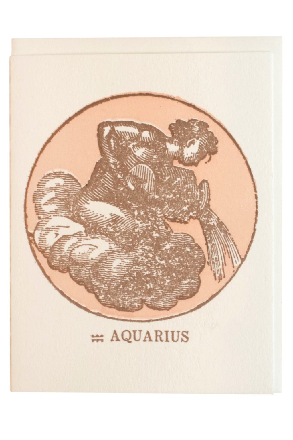 Margins Zodiac Card - Aquarius