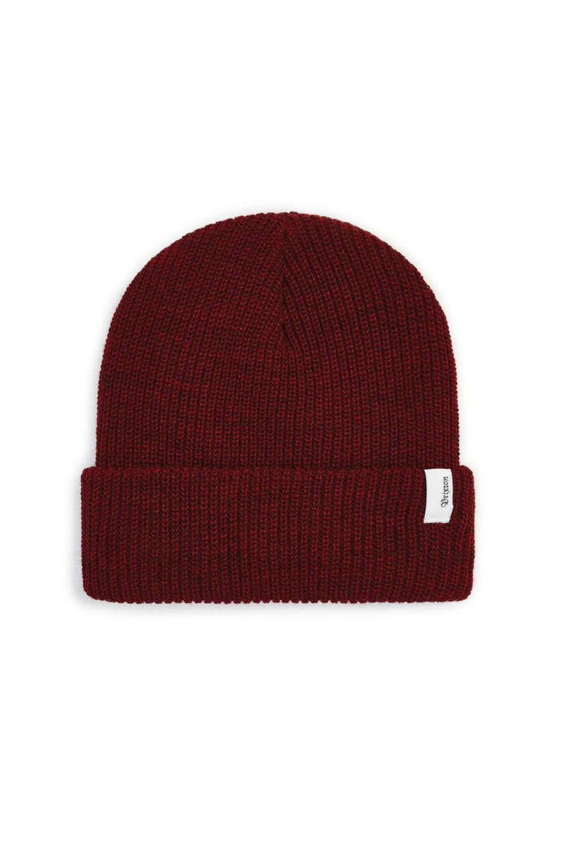 Brixton Aspen Beanie in Heather/Burgundy