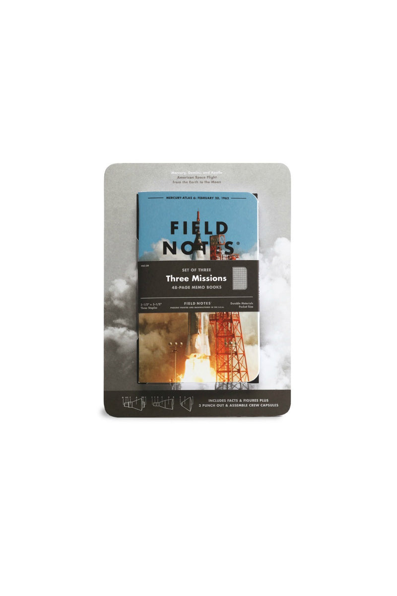 Field Notes Three Missions - 3 Pack