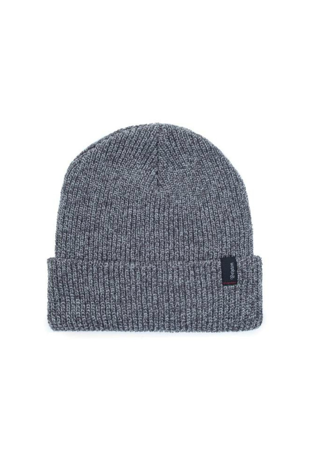 Brixton Heist Beanie in Grey/Dark Grey