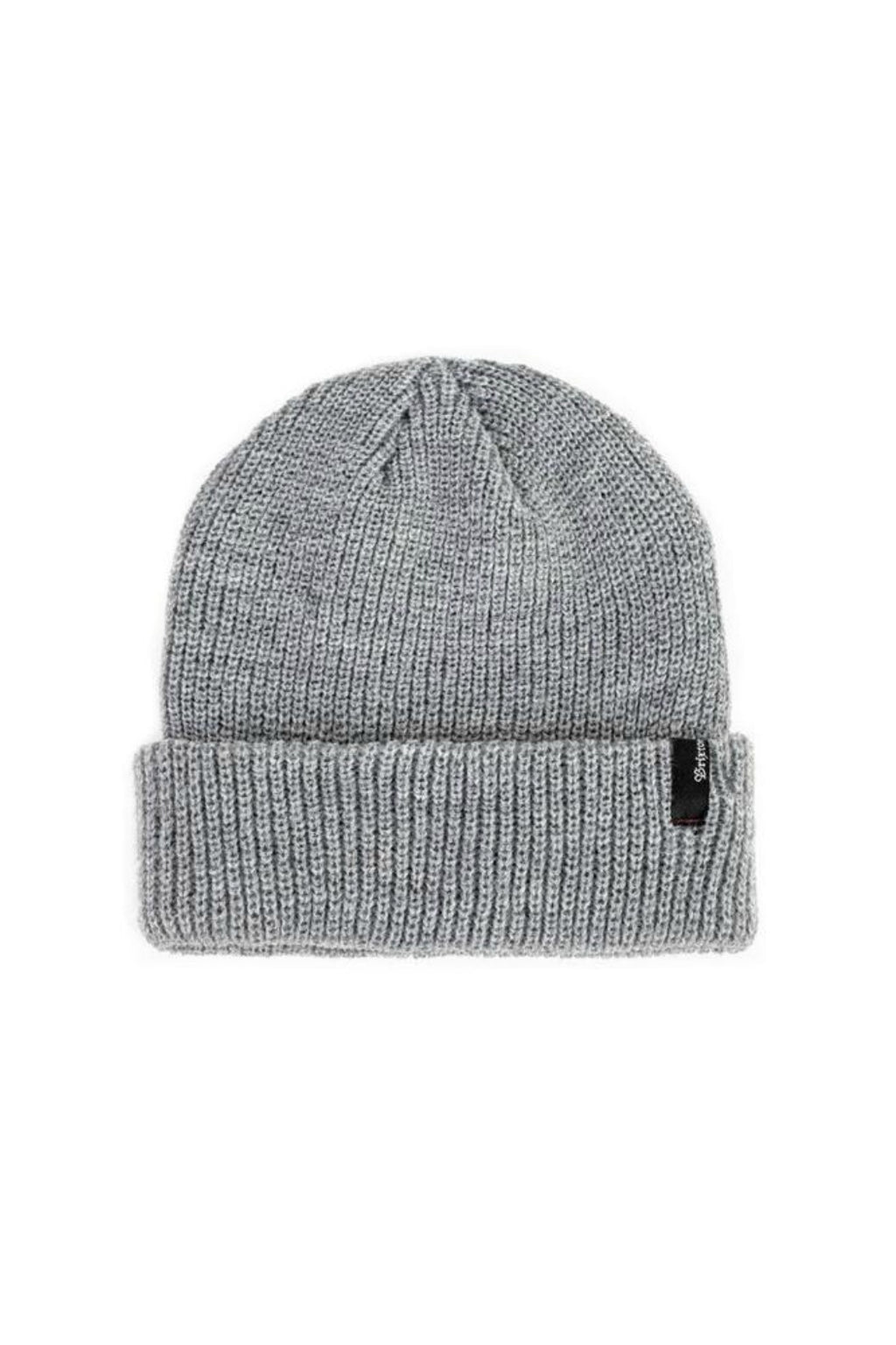 Brixton Heist Beanie in Light Heather Grey