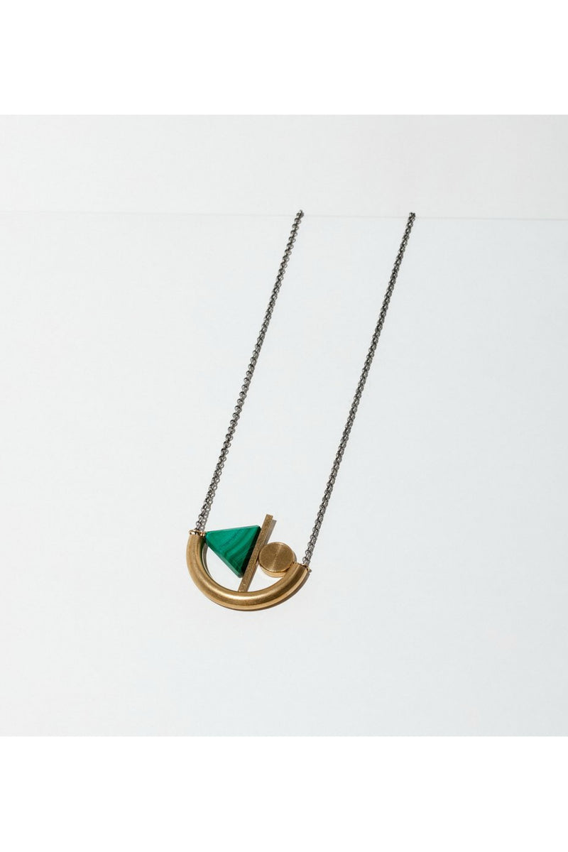 Larissa Loden Balla Necklace - Malachite