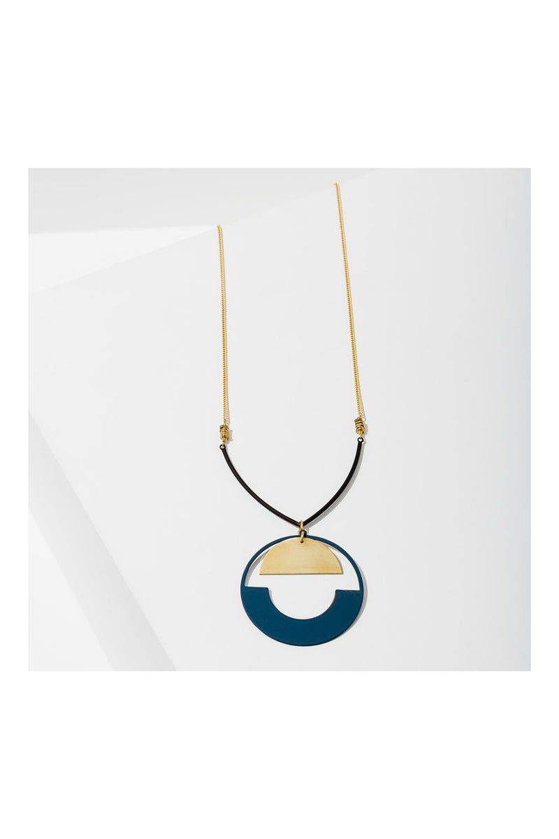 Larissa Loden Baltic Necklace - Navy