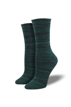 Socksmith Bamboo Space Dye Socks - Green