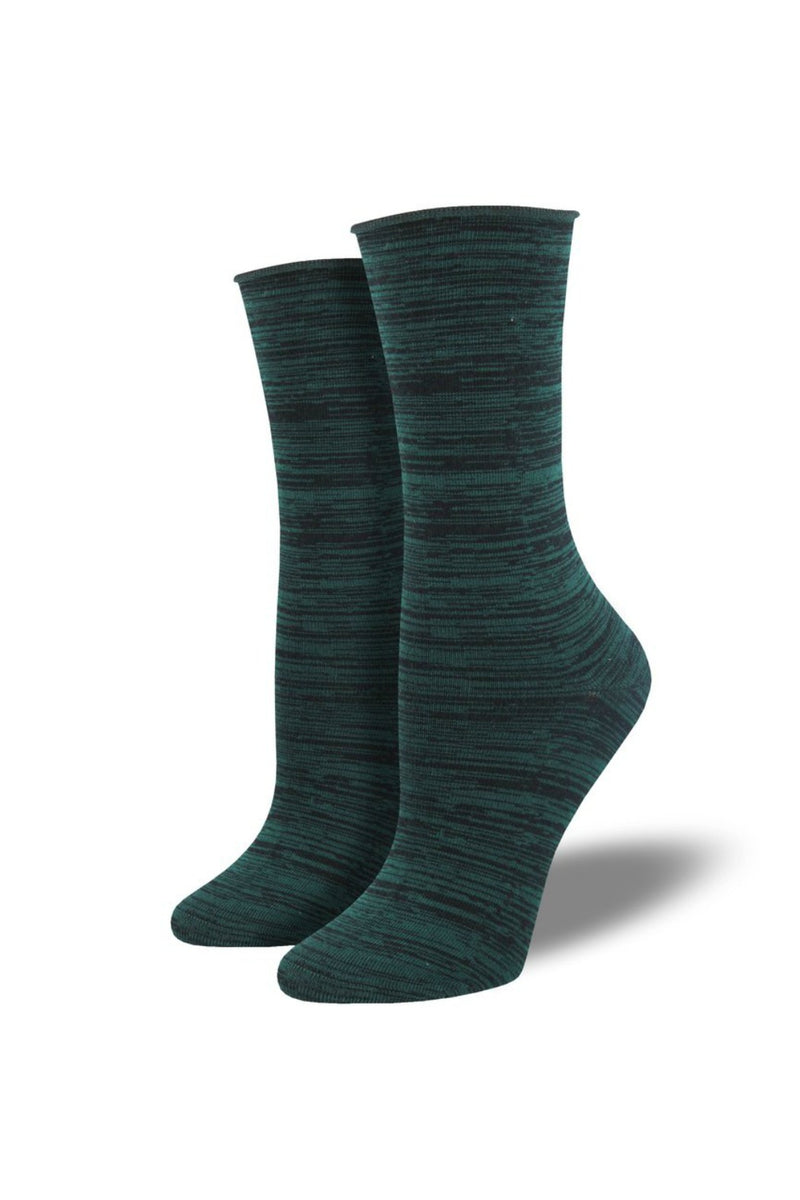 Socksmith Bamboo Space Dye Socks in Green